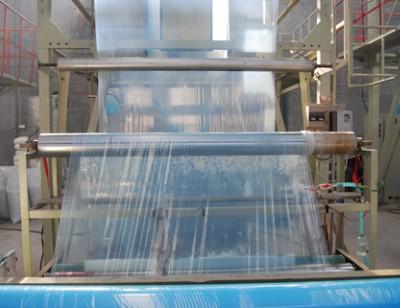 灌浆膜在生产线